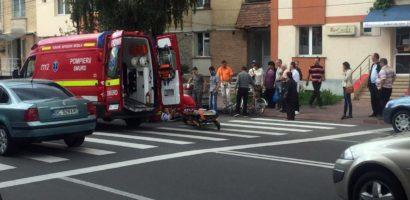 Minor acroșat pe o trecere de pietoni din Oradea