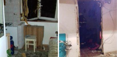 Explozie, in aceasta dimineata, la o garsoniera de pe Moldovei. Un barbat de 44 de ani ranit grav