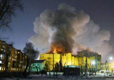 Tragedie in Rusia! 41 de copii au murit intr-un incendiu de la un mall din orasul Kemerovo