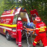 O tanara de 23 de ani si o minora de 2 luni au ajuns la spital in urma unei coliziuni intr-o interesectie din Topa de Cris, judetul Bihor