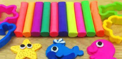 Plastilina, jucăria care îi dezvoltă creierul copilului