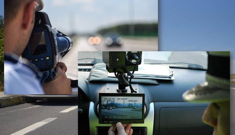 Vitezoman, surpins de radar, conducand cu 119 km/h, in zona de limitare la 50 km/h, in judetul Bihor
