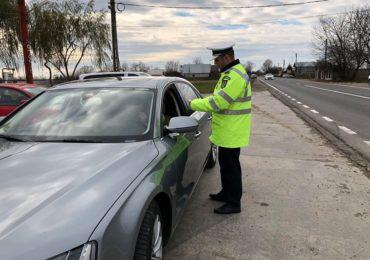 Politistii bihoreni in actiune au amendat 129 de soferi pentru lipsa centurii, folosirea telefonului mobil la volan si alte abateri