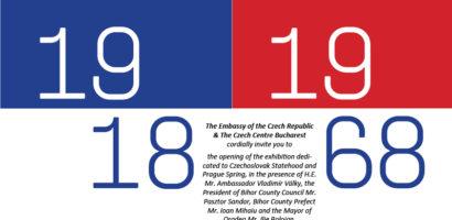 Cehoslovacia, 1918 – 1968. Comemorarea Primăverii de la Praga, intr-o expozitie la Oradea