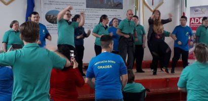 Asociaţia Down din Oradea, a sarbatorit a XIII-ea ediţie a  Zilei Mondiale a Sindromului Down