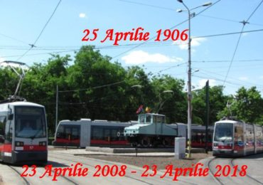 La 25 aprilie 1906, primul tramvai oradean, produs de compania Siemens, isi facea debutul