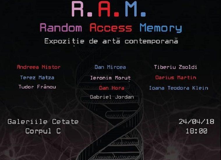"""""""R.A.M."""" – Expozitie de Arta Contemporana, astazi de la ora 18:00,  in Cetatea Oradea"""