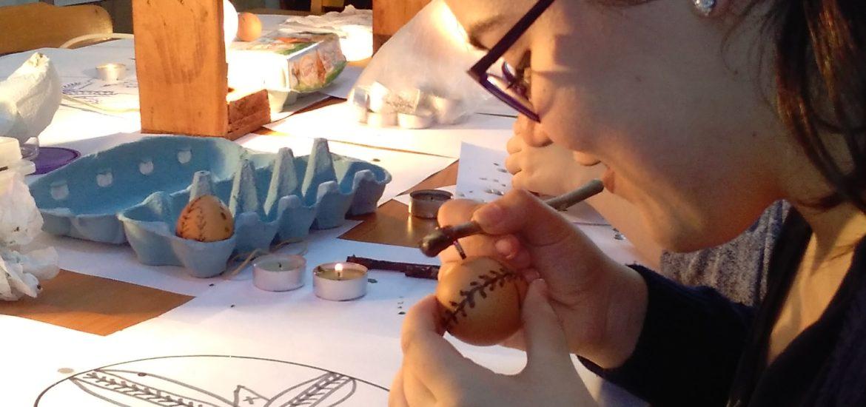 Atelier de decorare a ouălor
