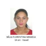 DISPARUTA! O minora de 14 ani din Vasad este data disparuta de 2 zile