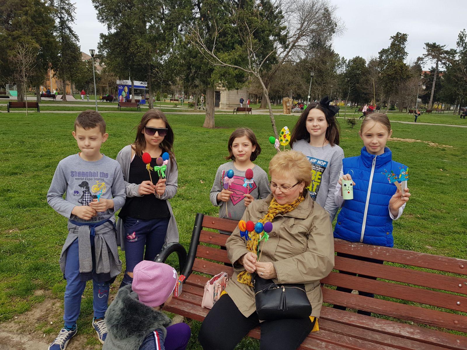 Copii centrul de zii Oradea