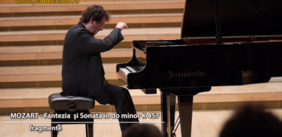 Concert de pian, sustinut de cunoscutul pianist Horia Mihail, la Filarmonica din Oradea