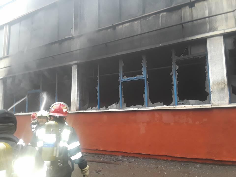 Incendiu Oradea UAMT