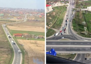 Politistii bihoreni vor monitoriza traficul pe DN1, de sarbatori, dintr-un elicopter (FOTO + VIDEO)