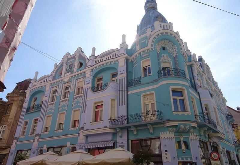 Au fost finalizate lucrarile de reabilitare la Palatului Moskovits Miksa din Oradea (GALERIE FOTO)