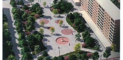 Piata Magnoliei din Oradea va avea mai mult spatiu verde decat are acum. Cum va arata (FOTO)