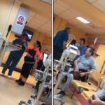 """Dialog scandalos la Spitalul Judetean Oradea, asistenta: """"Daca nu va convine puteti pleca!"""" (VIDEO)"""