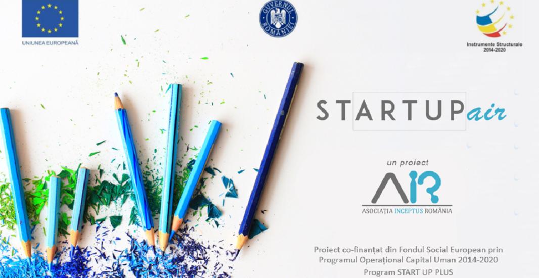 Startup AIR Open Session Oradea – Finanțează-ți creativitatea cu 33.329 de euro