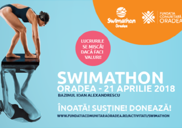 Ne vedem sambata 21 aprilie, la Swimathon Oradea 2018, sa miscam lucrurile impreuna!