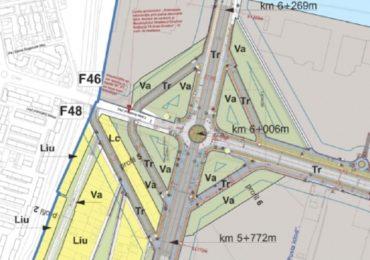 Se va modifica giratia de sub pasajul din Calea Aradului