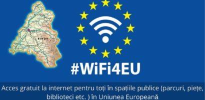 23 de localitati din judetul Bihor vor putea avea acces GRATUIT la internet prin retelele Wi-Fi