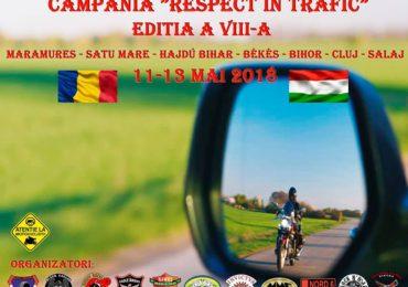 """Black Eagles Oradea anunta editia a VIII-a a campaniei """"Respect în trafic"""""""