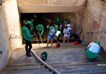 Cif si mindruta Oradea curatenie pasaj dacia