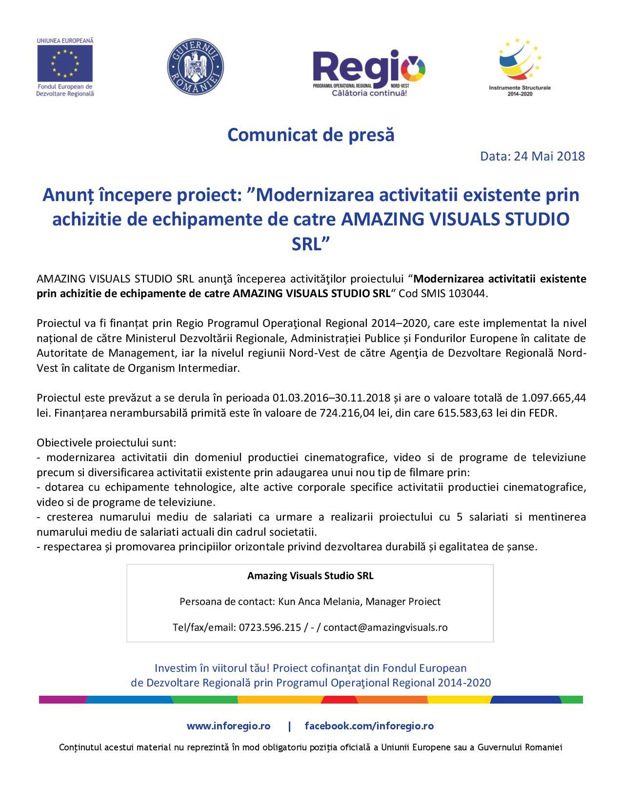 Comunicat-de-presa-Amazing Visual Studio SRL-NV
