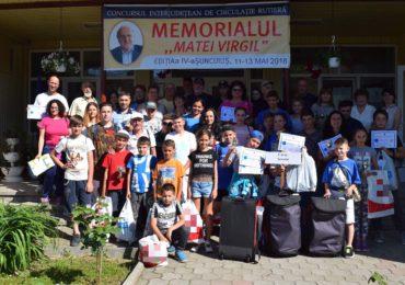 Copii din zece județe s-au întrecut, in weekend la Suncuius, într-o competiție de educație rutieră