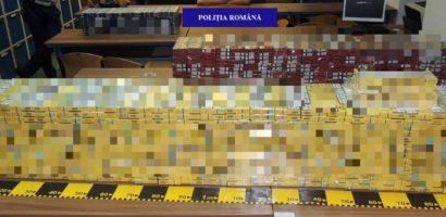 Oradean cercetat penal, dupa ce a fost prins, in masina, cu 60.000 de tigarete nemarcate legal