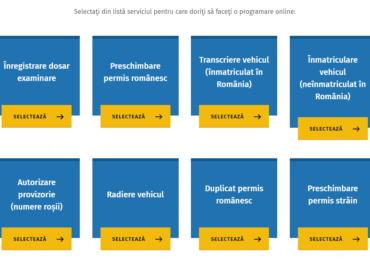 Inmatricularile si permisele, in Oradea, se vor rezerva exclusiv online, pe noul portal
