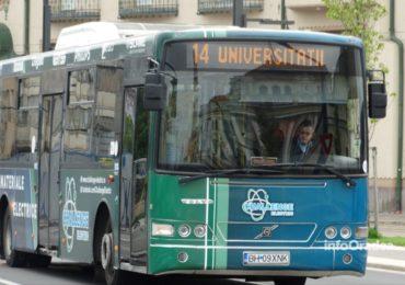 Linia 14 de autobuz si-a reluat circulatia pe traseul normal