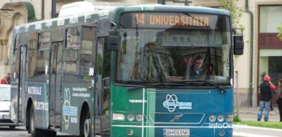 """Liniile 12 si 14 de autobuz vor fi deviate miercuri, 21 august, din cauza evenimentului """"Carnavalul Florilor"""""""