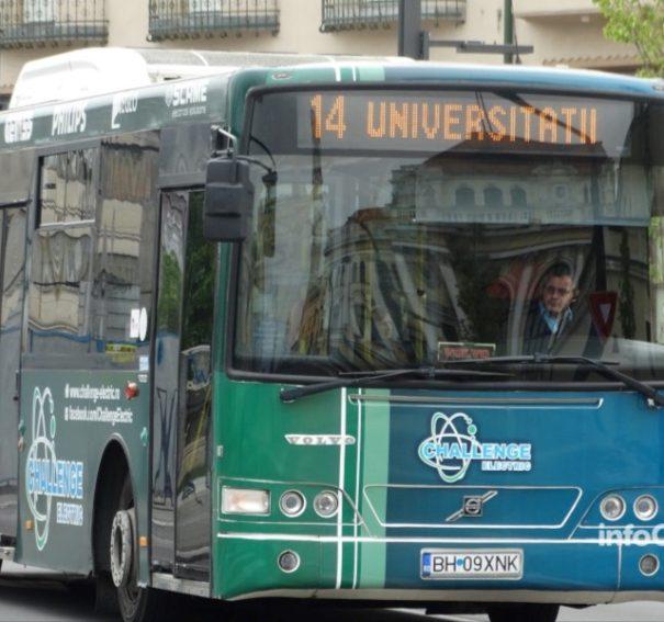 Modificari la traseele liniilor de autobuz 12 si 14, din Oradea, in perioada 22 noiembrie – 29 decembrie