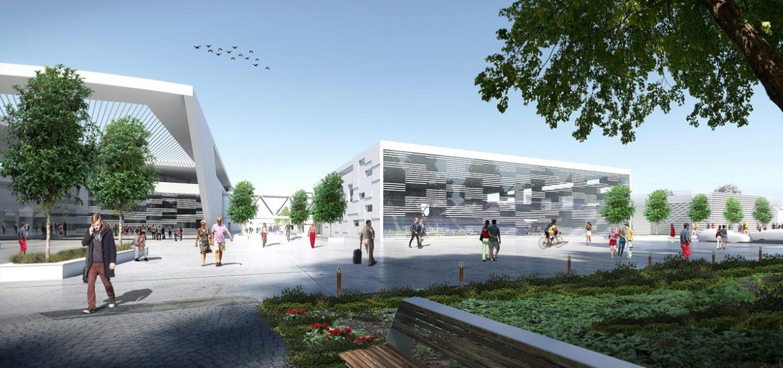 Proiect grandios pentru un Campus Universitar la Oradea (FOTO RANDARI)