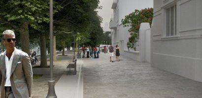 Viceprimarul Malan a prezentat noi randari cu proiectul de pietonalizare a zonei Libertatii