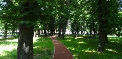 Pista de alergare in Parcul Salca din Oradea