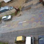 Poluare de proportii pe strada Traian Lalescu din Oradea. A fost sesizata Garda de Mediu