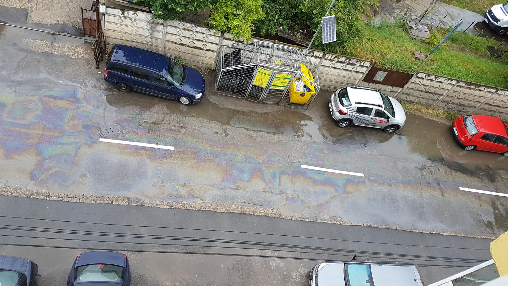 Poluare Traian Lalescu Oradea 21 mai