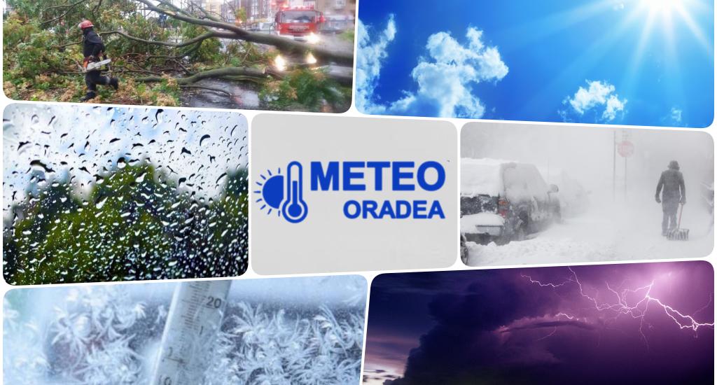 Prognoza meteo in Oradea, in saptamana 22-28 octombrie 2018