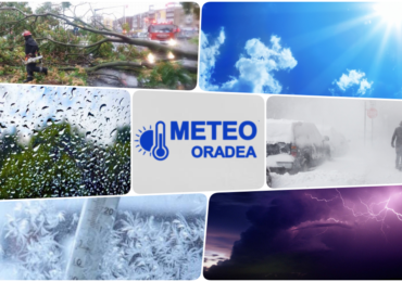Racire drastica a vremii si ploi in acest weekend in Oradea