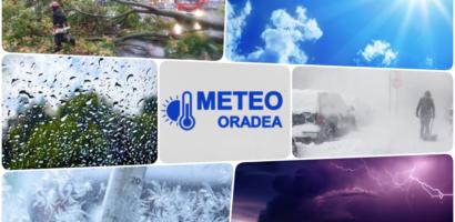 Vremea in racire accentuata in Oradea in acest weekend. Diferente de peste 10 grade, de la o zi la alta