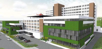 Spitalul Judetean Oradea va avea un corp nou de cladire cu functia de Ambulatoriu (FOTO RANDARI)