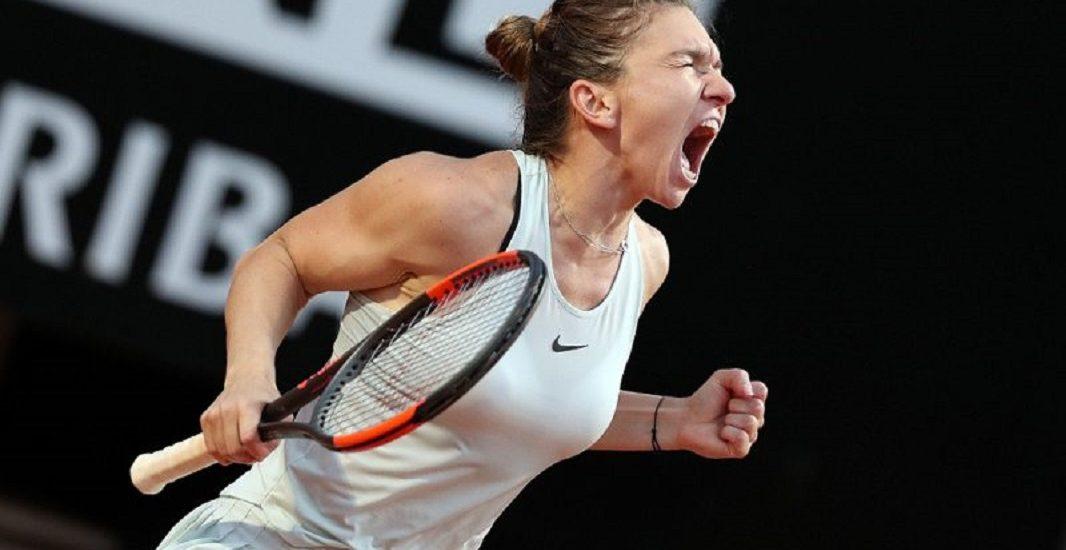 Victorie uriasa pentru Simona Halep, in 3 seturi, in semifinala de la Roma, impotriva Sharapovei