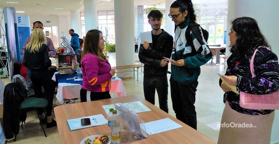 Târg de joburi organizat la Biblioteca Universității din Oradea în cadrul Săptămânii Carierei (FOTO)