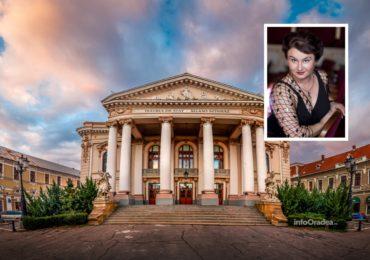Elvira Rimbu, a fost numita manager interimar la Teatrul Regina Maria din Oradea