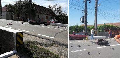 Un motociclist a murit, in urma unui accident rutier in Urvind