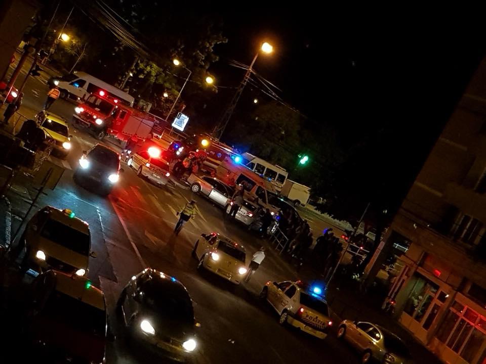 accident crinul alb Oradea