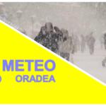 Avertizare meteo COD GALBEN de  ninsori insemnate cantitativ si viscol pentru judetul Bihor