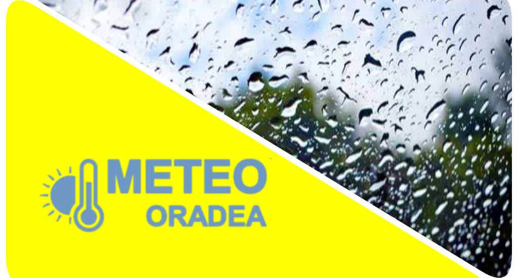 COD GALBEN de ploi insemnate in judetul Bihor, pana in aceasta seara la ora 23:00