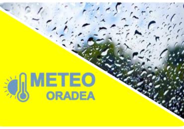 ALERTA! COD GALBEN de ploi insemnate cantitativ pentru judetul Bihor